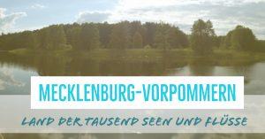 Paddeln in Mecklenburg-Vorpommern
