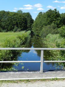 Brücke über die Havel am Jäthensee
