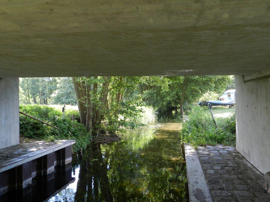 Brücke bei Granzin über die Havel
