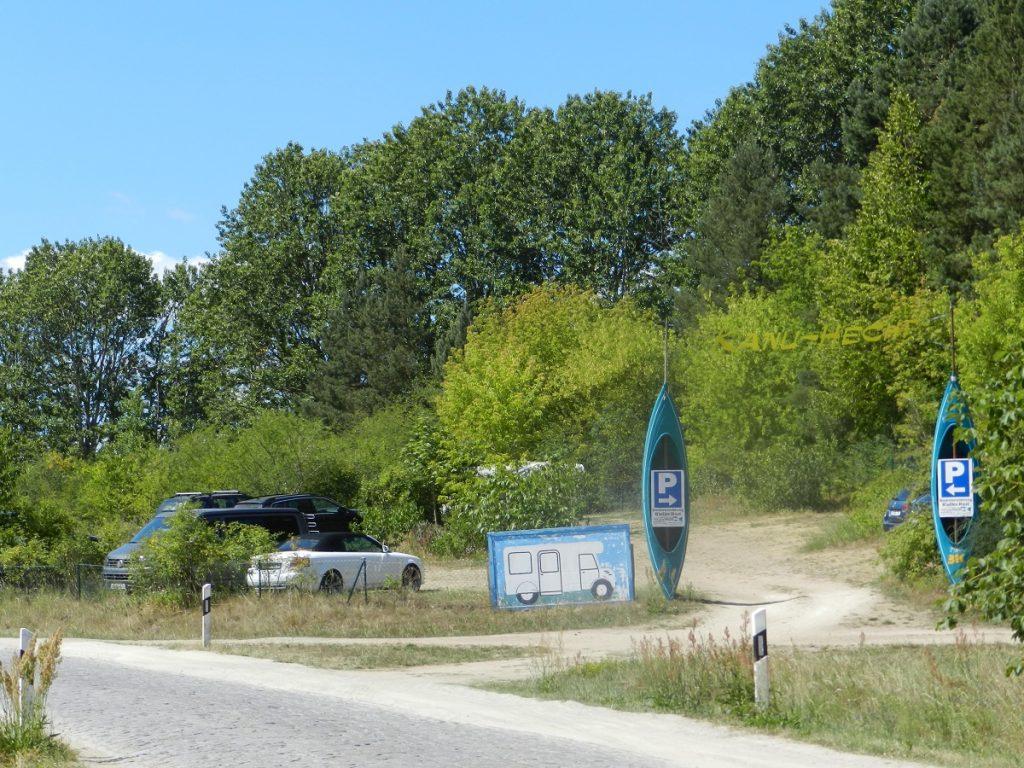 Parkplatz Kanustation
